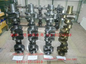 Komatsu Spare Parts Crankshaft (6151-35-1010) pictures & photos