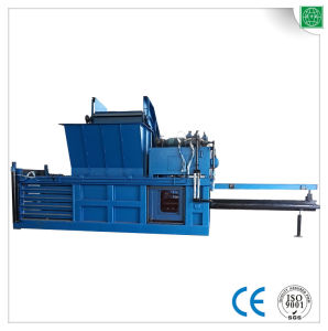 Hydraulic Horizontal Semi-Automatic Cardboard Baler Machine pictures & photos