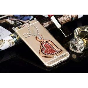 Diamond Heart Shape Case Mobile Phone Case for iPhone 6
