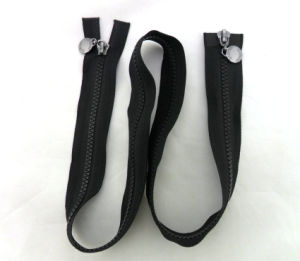 Custom Double Slider Open End Zipper for Jacket pictures & photos