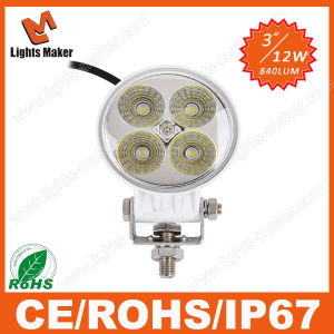 Wholesale Factory Direct12W LED Work Light 12W Offroad LED Lamp Auto LED Light