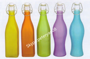 1.1L Juice Bottle with Click Top pictures & photos