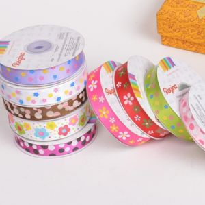 Polyester Satin Ribbons Automatic Screen Printing Machine pictures & photos