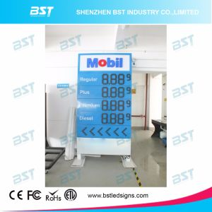 Outdoor High Brightness LED Gas Price Changer Sign (Remote Control) pictures & photos
