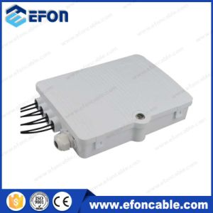 1 8 PLC Splitter Fiber Optic Cable Connect Distribution Box (FDB-08A) pictures & photos