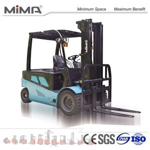 New 5 Ton Electric Forklift Truck with Blue Colour pictures & photos