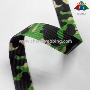 Military Camouflage Webbing, Polyester Webbing 20mm pictures & photos