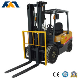 CE Approved Lifting Equipment 4ton Diesel Forklift Mitsubishi Engine pictures & photos