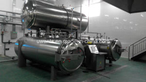 High-Output Double Working Pot Sterilizing Machine pictures & photos
