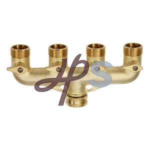 High Quality Brass Material Manifold (H728) pictures & photos