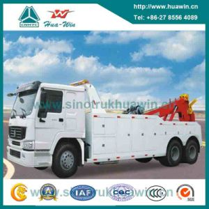 Sinotruk HOWO 50t Heavy Duty Rotator Wrecker Towing Truck pictures & photos