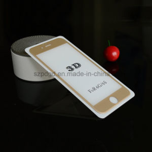 for iPhone 6 / 6s 3D 9h Curved Edge Tempered Glass Film Guard pictures & photos