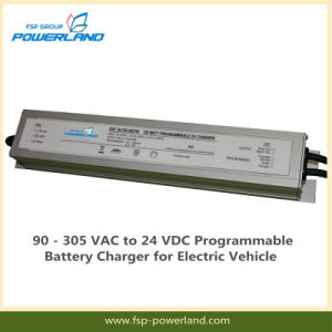 90 - 305 VAC to 24 VDC Programmable Battery Charger for Electric Vehicle pictures & photos