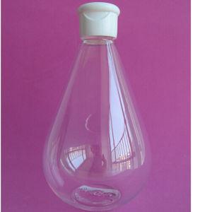 16.7oz Water Drop Shape Pet Bottle with Flip Top Cap pictures & photos