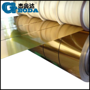 Golden Lacquering Tinplate Coil for General Can