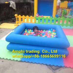 Happy Fun Inflatable Swimming Pool in Summer, Kids Ball Pit Pool