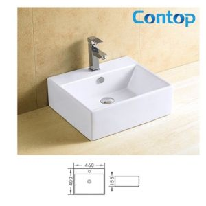 Ceramic Counter Top Washing Basin 8281 pictures & photos