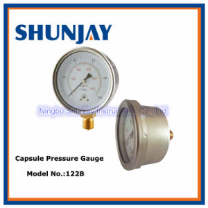 Dry Stainless Steel Case Bayonet Bezel Capsule Gauge pictures & photos
