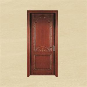 Antique Style Unique Wooden Carved Room Door