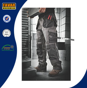 Mens Construction Woker Workwear Durable Work Trousers pictures & photos