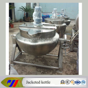 Steam Heating Jacketed Cooking Tank Cooking Pot pictures & photos