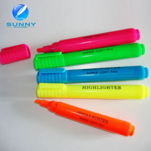 Wholesale Cheap Multi Color Highlighter Marker Pen Set with Cap pictures & photos