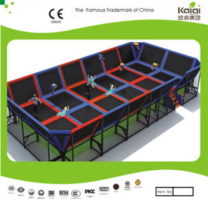 Kaiqi Professional Children′s Trampoline Playground (KQ50124A) pictures & photos
