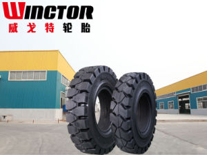 China 27X10-12 Pneumatic Solid Tyre, Solid Forklift Tire 27X10-12 pictures & photos