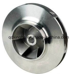 Custom Casting Hydraulic Pump Part for Water Pump Impeller pictures & photos