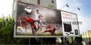 PVC Canvas Printing Frontlit Flex Banner Billboard (500dx1000d 18X12 610g) pictures & photos
