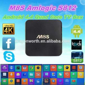 Kodi 15.1 Quad Core TV Box M8s Android Google pictures & photos