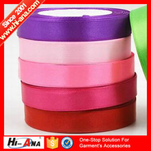 Free Sample Available Cheaper Elastic Satin Ribbon pictures & photos