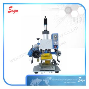 Xt0071 Leather Logo Pneumatic Stamping Machine pictures & photos