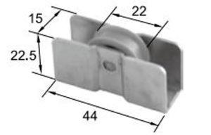 New Unusual Roller R8043 for Aluminum Door & Window pictures & photos