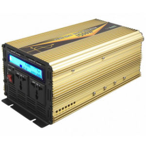 1500W DC12V/24V AC220V/110 Pure Sine Wave Power Inverter with UPS Charge LCD Display pictures & photos