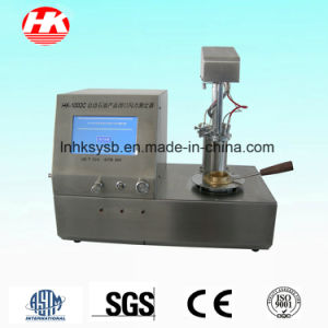 ASTM D93 Automatic Flash Point Tester pictures & photos
