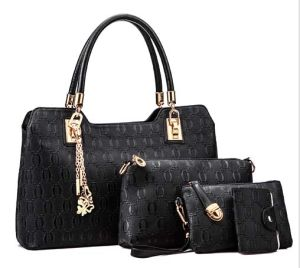 Hot Selling Designer Handbag Cheap 3PCS Fashion Leather Bag (XZ1056) pictures & photos