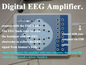 16 /18 Channel Digital EEG Machine Mapping System Brain Waves Device Electroencephalo-Graph Electroencephalogram with Software-Maggie pictures & photos