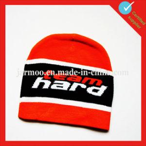 Custom Acrylic Jacquard Acrylic Beanie Hat pictures & photos