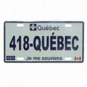 Madagascar Scrolling LED License Plate Frame pictures & photos