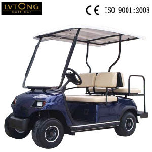 Hot Sale Four People Electric Golf Cart Hotel Car pictures & photos