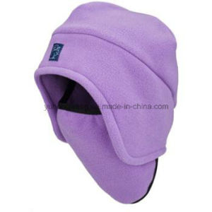 Wholesale Winter Warm Knitted Polar Fleece Hat/Cap pictures & photos