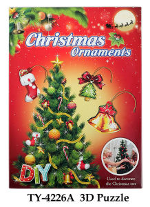 Funny 3D Christmas Puzzle Toy pictures & photos