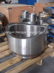 Hot Forged Saddle-Type Nozzle Flange of Material A105