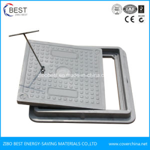 Square Shape SMC 400X400mm Sewer Manhole Cover pictures & photos