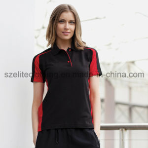 Two-Tone China Factory Dollar Polo T Shirts (ELTWPJ-176) pictures & photos