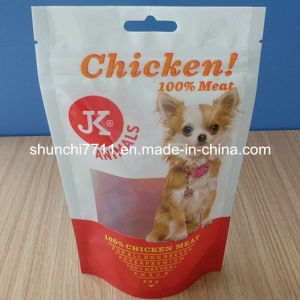 Stand up Zipper Pet Food Pouch pictures & photos