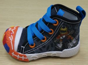 Latest Lovely Injection Shoes Baby Canvas Shoes Infant Shoes (FF516-2) pictures & photos