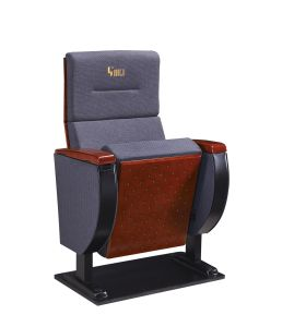 Hongji Auditorium Chair with Writing Tablet for Wholesale pictures & photos
