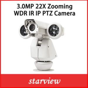 3.0MP 22X Zooming HD Network IP WDR IR PTZ Camera pictures & photos